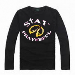 female black long sleeves tshirt