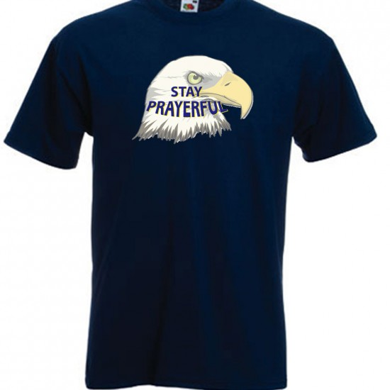 STAY PRAYERFUL EAGLE JPG TSHIRT